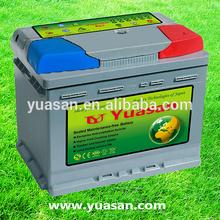 Yuasan New Mini DIN 44 Quick Start Maintenance Free Auto Battery 12V 44AH MF Car Battery -54459-MF