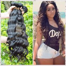 Premium quality lovely human hair virgin malaysian wavy hair