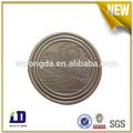 de haute qualité matériel en laiton antique silver coin