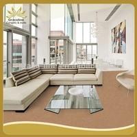 brown carpet used in hotel room lobby