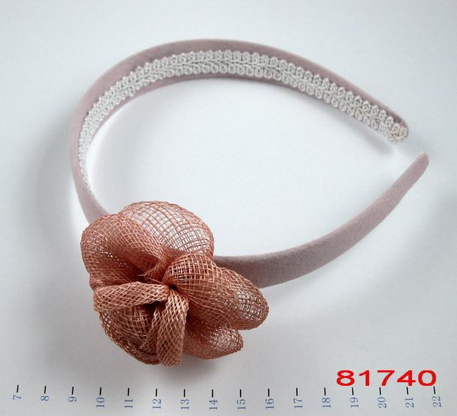 ile moda tığ saç bandı örgü çiçek