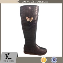 high quality dark green boots with popular style