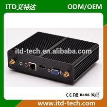 Industrial mini pc Pentium N3520 CPU 4GB RAM ,64 GB SSD ,2*1000M LAN,5*USB