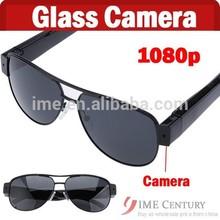 Hot Fashion Women Sunglasses Black Hidden Camera Video/Picture Full HD 1080p 800G