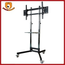 ST-1800 wholesale china factory lcd tv floor standing dvd adjustable mobile tv cart