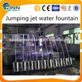 jumping laminar jato de água da fonte