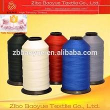 150D/3 polyester filament thread for quilting mattress machine
