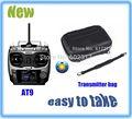 Nova 2015 radiolink at9 2.4g 9ch rádio transmissor rc& receptor combo controle tx transmissor com bolsa fácil de levá-la fora