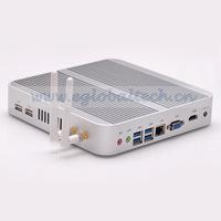 Hot Sell 1* VGA + 1 * HDMI Intel Core i5 4200U 4GB DDR3 320GBHDD intel HD 4400 Graphics MINI PC DHL Free Shipping Compact PC