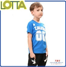 High quality 100% cotton summer cheap printing tshirts boys clothing