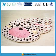 cute bear pet cushion with the dot