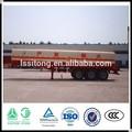 Surtidor de la fábrica 3 eje de aceite combustible diesel de transporte petrolero - remolque para ventas calientes