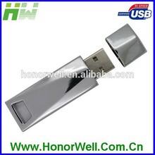 Shinning Stainless Metal 16GB Usb Flash Memory Pen Disk