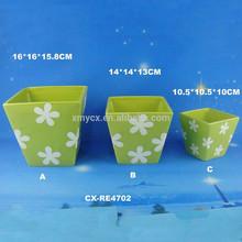 Ceramic flowerpot OEM customs flower planter