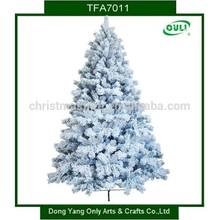 Perfect Holiday Christmas Tree, 7-Feet, Flocked Snow