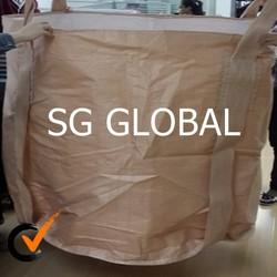 china manufactures 1 ton jumbo bag pp woven big bag for Japan market