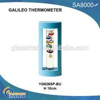 2015 hot sale plastic galileo thermometer