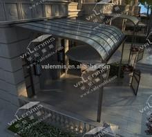 Alumium arch canopy
