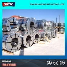 Gi bobina zinco revestido bobina de aço galvanizado bobina de aço fábrica menor preço feito na China