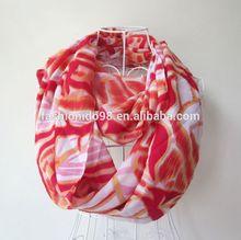 YiWu Factory Feminine acrylic infinity scarf with bride