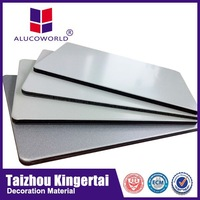 Alucoworld Fire-resistant High peeling Strength ACP Panel fire rated door panel