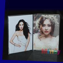 Elegant acrylic photo frame, OEM acrylic/PMMA picture frame