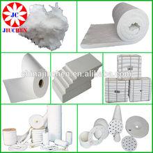 1260C heat fireproof insulation material ceramic fiber blanket