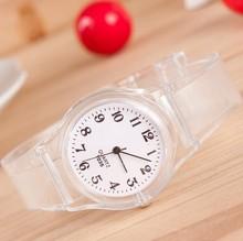 Popular quartz men women girl boy unisex jelly silicon watch wms01