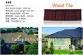 المعادن الملونة بلاط سقف نوع الخشب