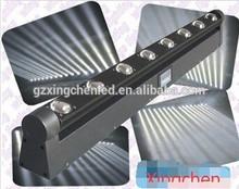 8 x 10w White LED rotation beam bar light/ professional DJ indoor stage lighting system for led moving bar lights