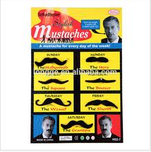 artificial moustache/the masked ball moustache/masked ball moustache