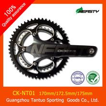 carbon fiber bicycle crankset 170/172.5/175mm