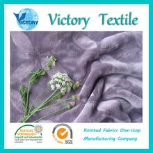 Polyester Spraying Decoration Flannel Fleece Fabric for Garment