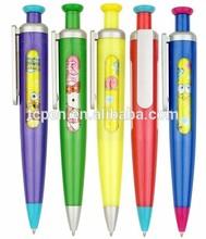 2015 Novelty Design Special Short Clip Promotion Pen