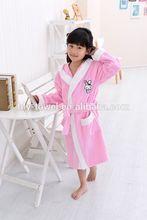 turco rosa menina crianças tecer algodão veste kimono