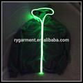 Unisex glänzend geführt Jacke/hoodie kleidung