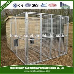 Wholesale cheap galvanized steel dog kennel