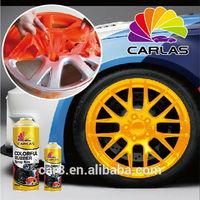 Carlas car wheel protective film liquid rubber spray wholesale rubber coating spray for car
