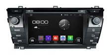 Android 4.4.4 In-car entertainment Car audio stereo system/in car radio/dvd/gps navigation for Toyota Corolla 2014