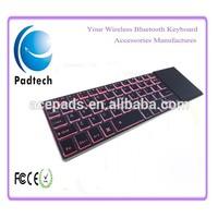 Backlit Bluetooth Teclados mac