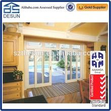 Mordern Sliding aluminum glass door sliding door quality meet to CE certification
