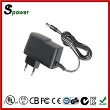 Constant current ac adaptor 12v 1000ma with UK US EU AU plug