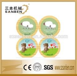 SanBen Design Unique Heat Shrink Toy Label, private toy label