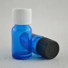 e cig liquid glasa bottle 15ml blue vial