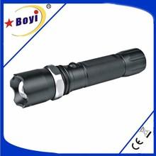 Factory direct sale LED self defense tactical flashlight, police security led flashlight
