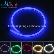 Mlight Flex Side-emitting Neon Tube LED Strip Light Blue IP47 CE RoHS OEM High Quality