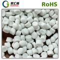 Virgin hdpe / ldpe / lldpe granulés de calcium carbonate remplissage maître pour sacs et étuis