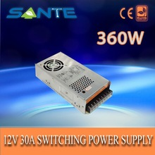 Promotional with cooling fan 360W 30A12v switched mode power supply