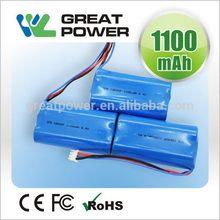 Bottom price eco friendly cgr18650ch 3.7v lithium battery