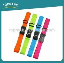 new design tsa approved tsa lock luggage strap very comfortable